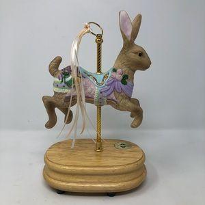 Breckinridge, Easter Bunny, Carousel Music Box